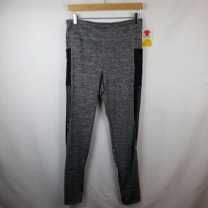 Rue 21 Active Wear Leggings Sz L Pockets Gray